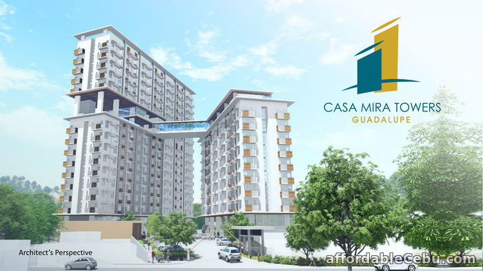 1st picture of CASA MIRA TOWERS GUADALUPE - STUDIO UNIT FOR SALE For Sale in Cebu, Philippines