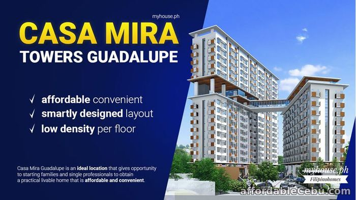 1st picture of AS LOW AS 2.1 M YOU CAN OWN A CONDO UNIT AT CASA MIRA TOWER, CEBU CITY For Sale in Cebu, Philippines