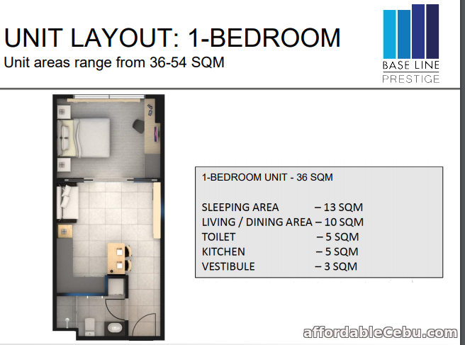 1st picture of for Sale 1 BEDROOM Unit For Sale in Cebu, Philippines