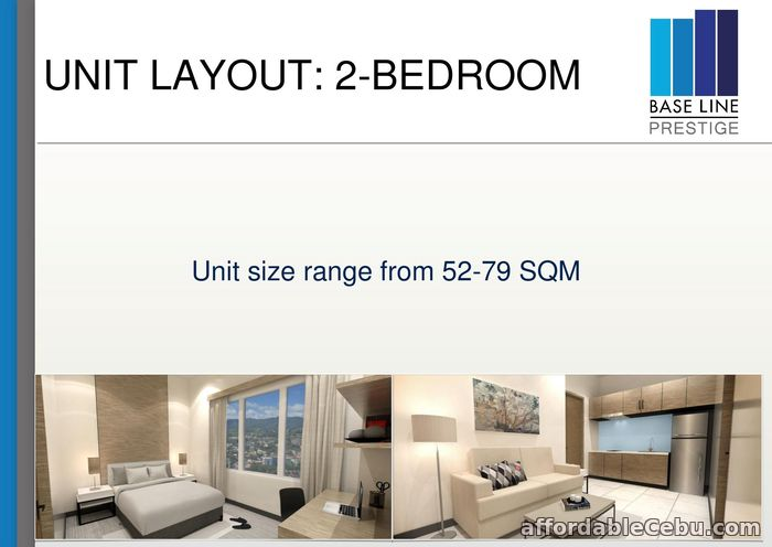 2nd picture of 2 Bedroom Condo for sale in Cebu City, Cebu For Sale in Cebu, Philippines