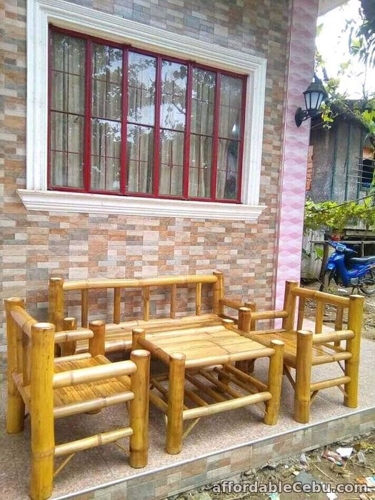 1st picture of bamboo sofa set For Sale in Cebu, Philippines