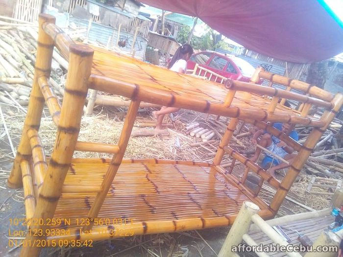 1st picture of bamboo double deck For Sale in Cebu, Philippines