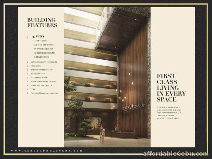 4th picture of 3BR FOR SALE @ 38 Park Avenue in IT Park Lahug, Cebu City. For Sale in Cebu, Philippines