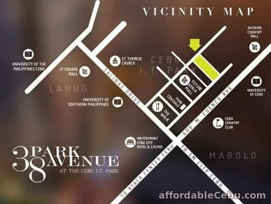 5th picture of 3BR FOR SALE @ 38 Park Avenue in IT Park Lahug, Cebu City. For Sale in Cebu, Philippines