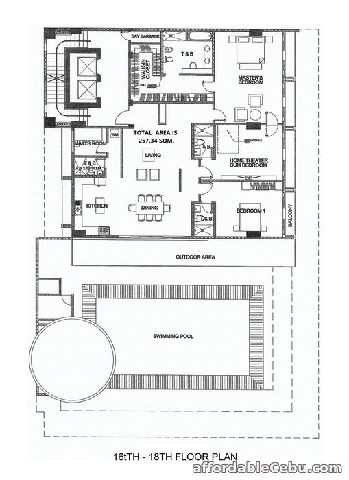 1st picture of Penthouse for Sale - Trillium Residences For Sale in Cebu, Philippines