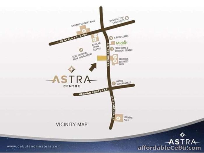 2nd picture of ONE ASTRA PLACE- STUDIO UNIT FOR SALE For Sale in Cebu, Philippines
