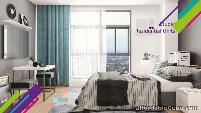 2nd picture of Studio Unit for Sale at Vertex Central in Cebu City For Sale in Cebu, Philippines