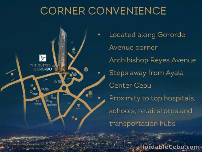 5th picture of The Suites at Gorordo offers luxury living For Sale in Cebu, Philippines