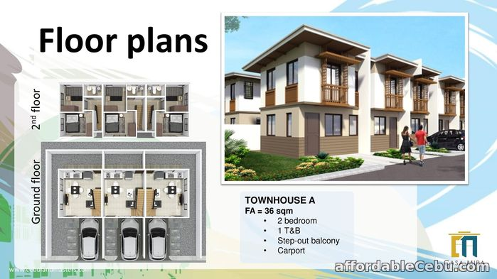 1st picture of Casa Mira South - Townhouse A for Sale For Sale in Cebu, Philippines