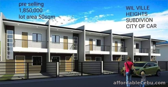 1st picture of For Sale Wil Ville Heights Subdivision For Sale in Cebu, Philippines
