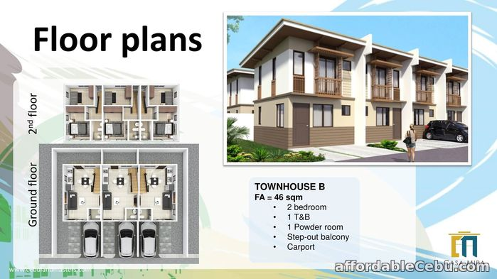 1st picture of Townhouse B for Sale - Casa Mira South For Sale in Cebu, Philippines