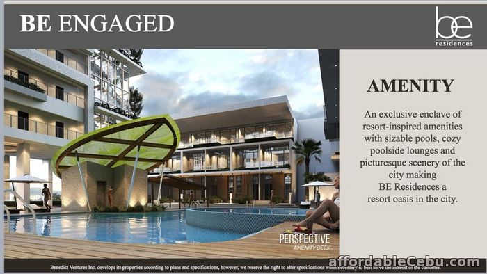 3rd picture of Pre-selling 1 Bedroom w/ Balcony (Unit No.18F-32) BE Residences - Lahug For Sale in Cebu, Philippines