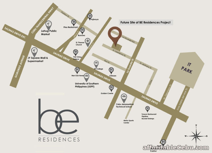 3rd picture of Pre-selling 2 Bedroom w/ Balcony (Unit No.18F-01) in BE Residences - Lahug For Sale in Cebu, Philippines
