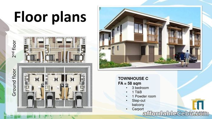 1st picture of Casa Mira South - Townhouse C for Sale For Sale in Cebu, Philippines