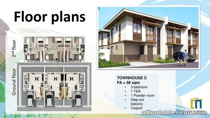 1st picture of HOUSE AND LOT IN CASA MIRA SOUTH For Sale in Cebu, Philippines
