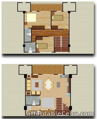 1st picture of Penthouse Condo unit type at WoodCrest For Sale in Cebu, Philippines
