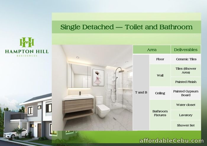 2nd picture of Hampton Hill Residences - Grayson House (Single Detached) For Sale in Cebu, Philippines