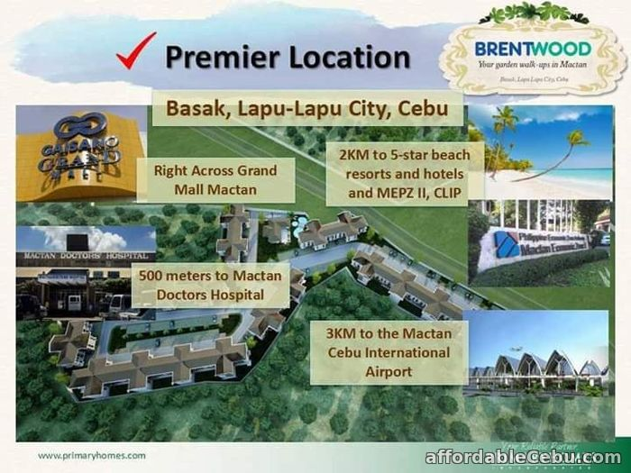 4th picture of 1BR-A IN BRENTWOOD (Courtyards) For Sale in Cebu, Philippines