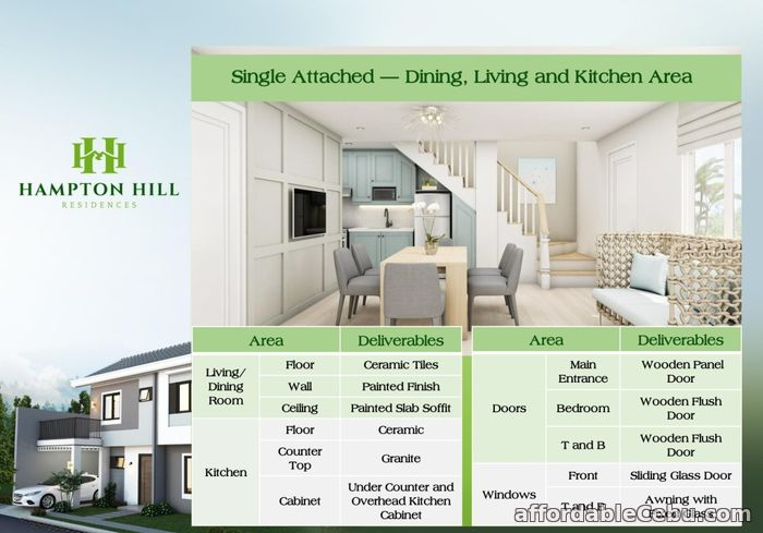 4th picture of Hampton Hill Residences - Grayson House (Single Detached) For Sale in Cebu, Philippines