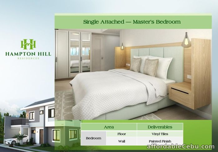 5th picture of Clarke House (Single Attached) - Hampton Hill Residences For Sale in Cebu, Philippines