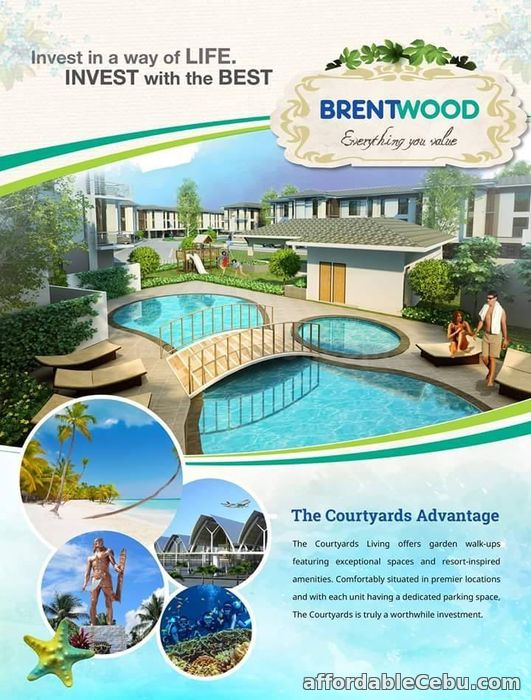 2nd picture of 2BR-B IN BRENTWOOD (Courtyards) For Sale in Cebu, Philippines