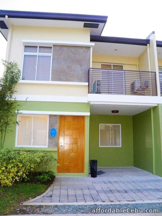 1st picture of 4 bdr house gated w balcony nr transport and school For Sale in Cebu, Philippines
