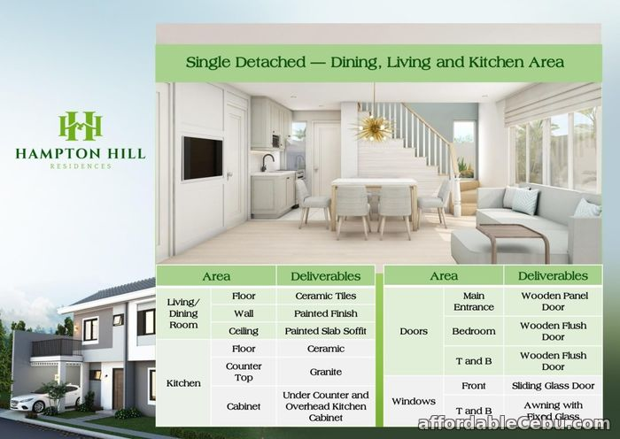3rd picture of Hampton Hill Residences - Grayson House (Single Detached) For Sale in Cebu, Philippines