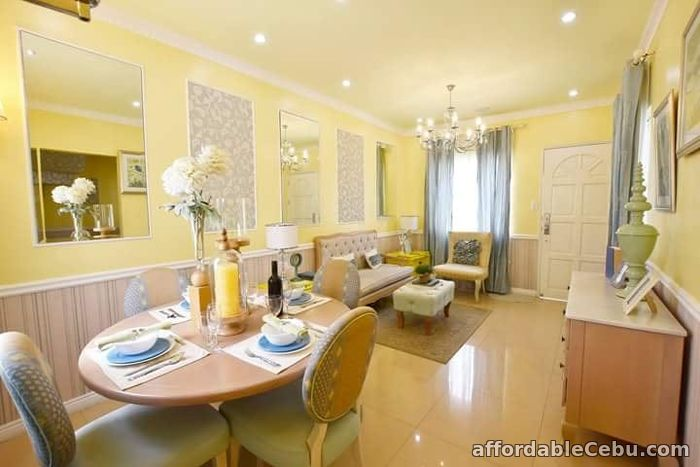 3rd picture of 4 bdr house gated w balcony nr transport and school For Sale in Cebu, Philippines