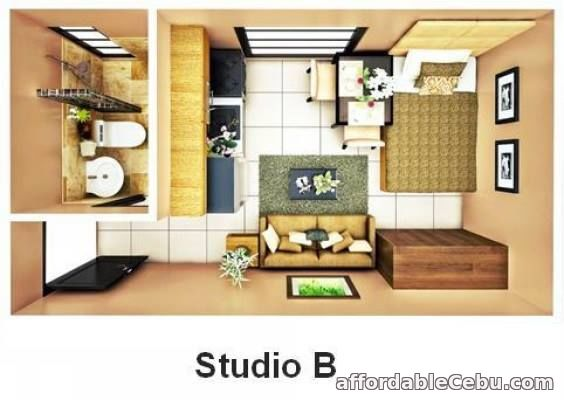 1st picture of STUDIO UNIT-B IN BRENTWOOD (Courtyards) For Sale in Cebu, Philippines
