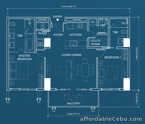 2nd picture of 2BR for Sale - Aruga by RockWell For Sale in Cebu, Philippines