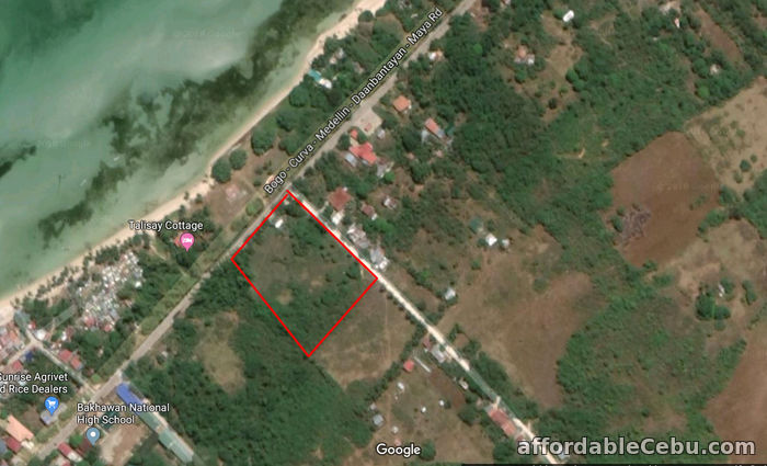 1st picture of Titled Land in Bakhawan Daan Bantayan Corner lot For Sale in Cebu, Philippines