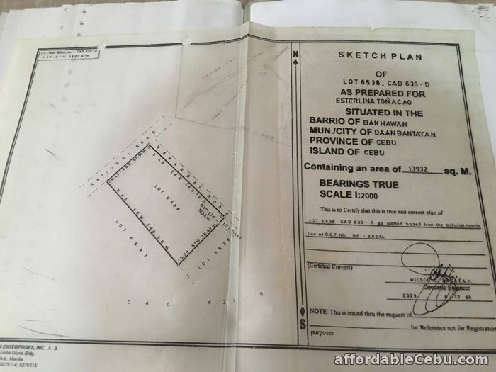 2nd picture of Titled Land in Bakhawan Daan Bantayan Corner lot For Sale in Cebu, Philippines