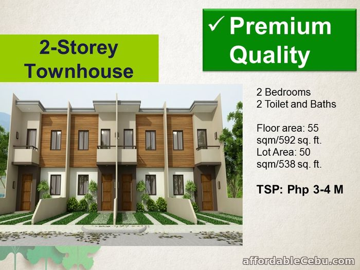 3rd picture of 2 Storey Townhouse for Sale - Mulberry Drive For Sale in Cebu, Philippines