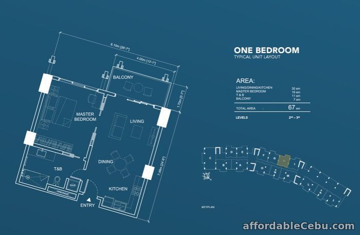 2nd picture of 1 BR for Sale - Aruga by RockWell For Sale in Cebu, Philippines
