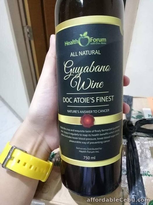 3rd picture of GUYABANO WINE by DOC ATOIE For Sale in Cebu, Philippines
