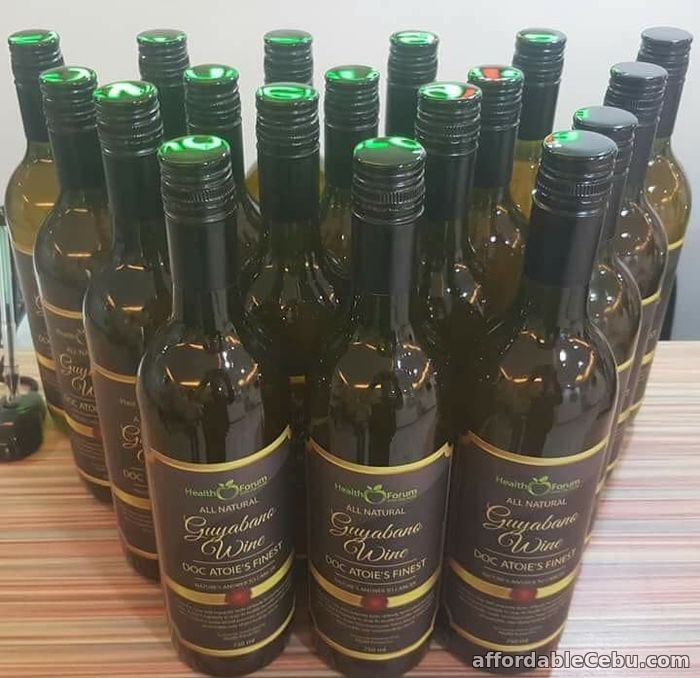 4th picture of GUYABANO WINE by DOC ATOIE For Sale in Cebu, Philippines