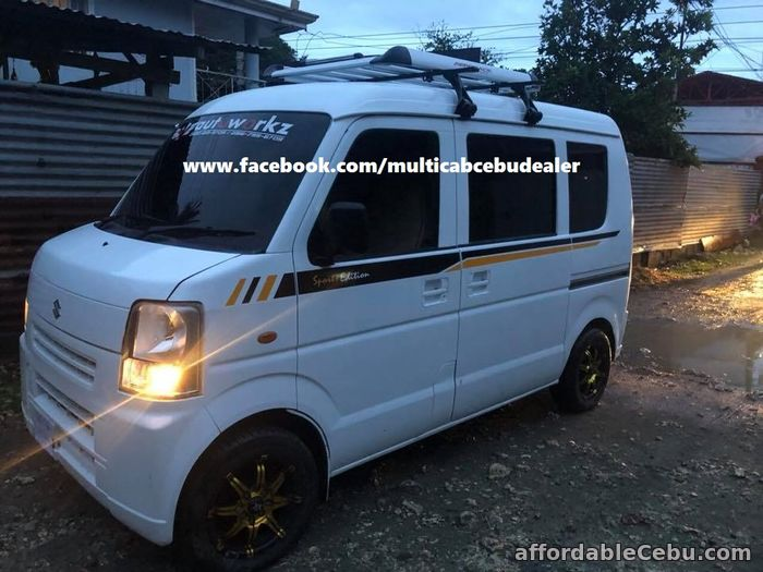 3rd picture of Cheap Multicab in Cebu, Suzuki minivan da64v For Sale in Cebu, Philippines