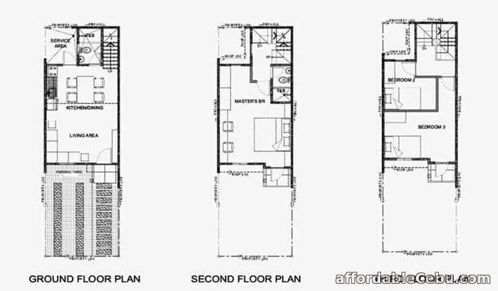 1st picture of 3 Story TOWNHOUSE For Sale in Cebu, Philippines