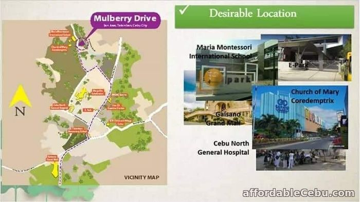 2nd picture of MULBERRY DRIVE in San Jose Talamban, Cebu City For Sale in Cebu, Philippines