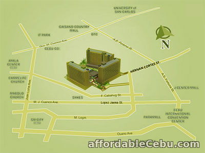 5th picture of Studio Unit for Sale - Bamboo Bay Community For Sale in Cebu, Philippines