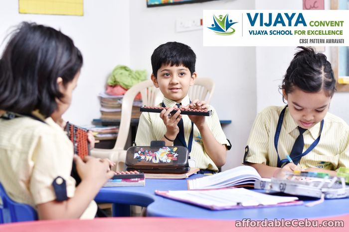 4th picture of Vijaya Convent and Vijaya School for excellence CBSE pattern Amravati Maharashtra. Announcement in Cebu, Philippines