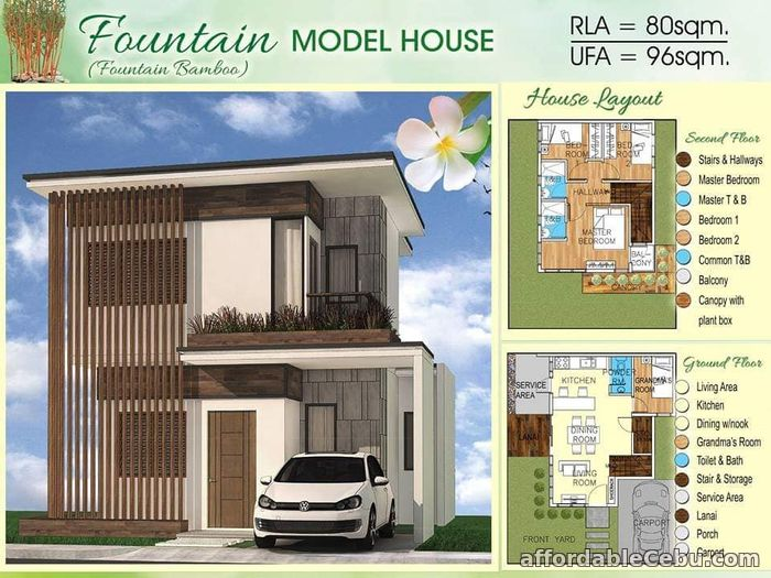 2nd picture of Fountain Bamboo Model - Bamboo Bay Residences For Sale in Cebu, Philippines