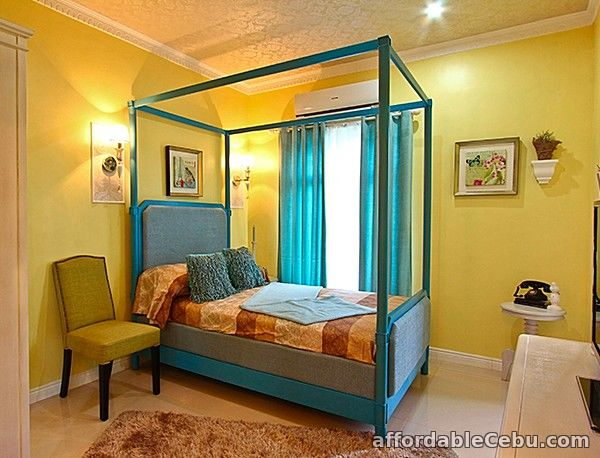 3rd picture of 4 bdr house w gate and balcony nr school For Sale in Cebu, Philippines