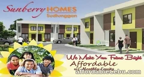 1st picture of 2-Storey Townhouse for Sale ( Block No.: 10 - Phase No: 3 ) in Sunberry Homes Sudtunggan For Sale in Cebu, Philippines