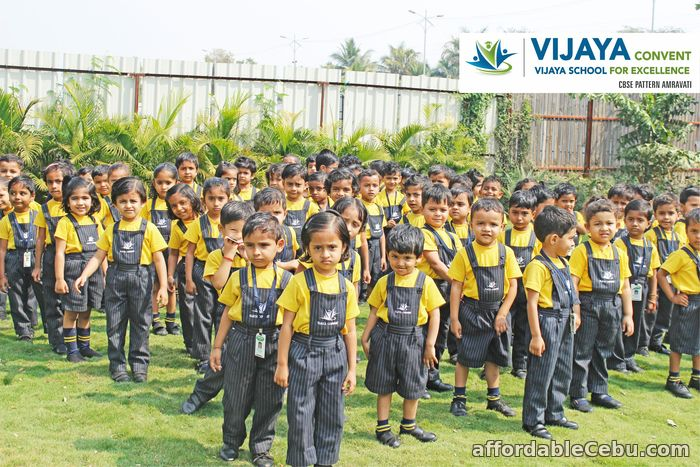 3rd picture of Vijaya Convent and Vijaya School for excellence CBSE pattern Amravati Maharashtra. Announcement in Cebu, Philippines