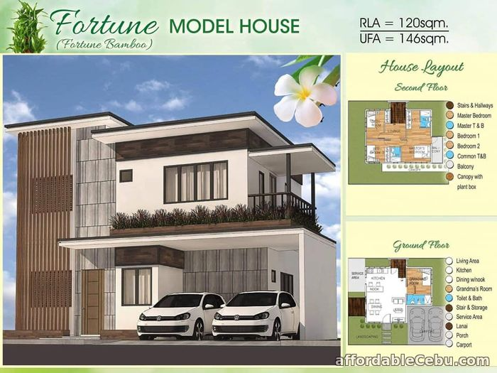 1st picture of Fortune Bamboo Model - Bamboo Bay Residences For Sale in Cebu, Philippines