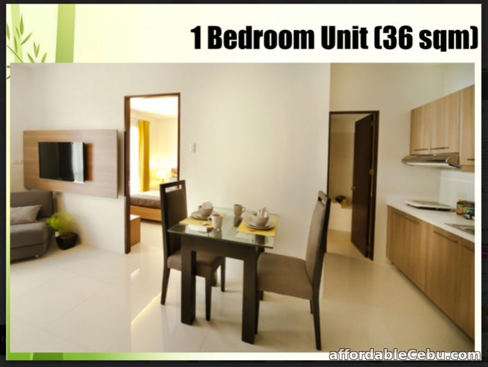 1st picture of 1 Bedroom Unit for Sale - Bamboo Bay Community For Sale in Cebu, Philippines