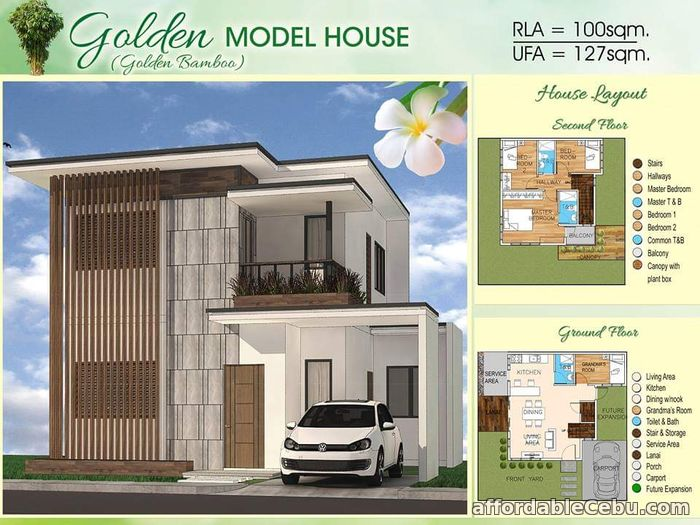 1st picture of Golden Bamboo Model - Bamboo Bay Residences For Sale in Cebu, Philippines