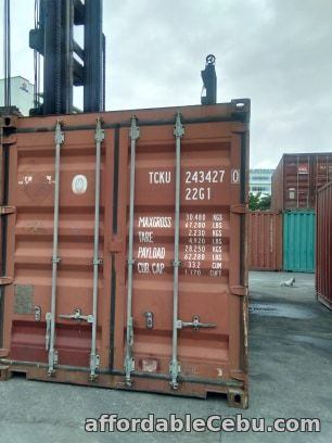 1st picture of Shipping Container in Cebu For Sale in Cebu, Philippines