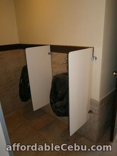 2nd picture of Cebu Toilet Partitions Supplier & Contractor For Sale in Cebu, Philippines
